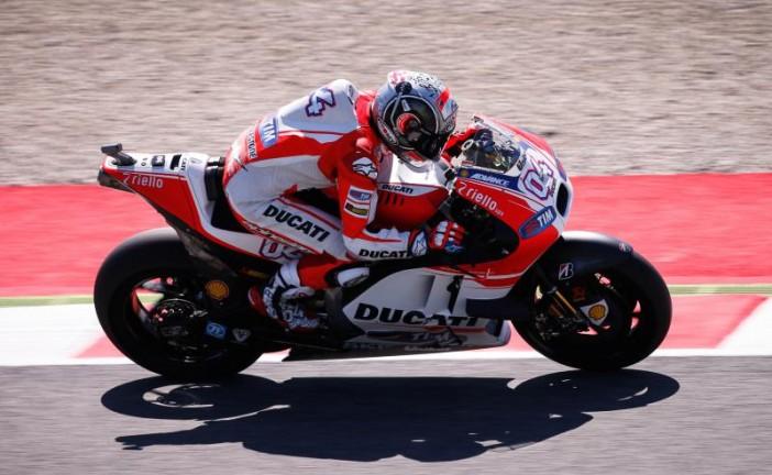 Moto GP / Mugello: Dovizioso lidera los entrenamientos