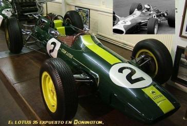 En 1962 nacía el chasis monocasco de la mano de  Colin Chapman, conducido por Jim Clark