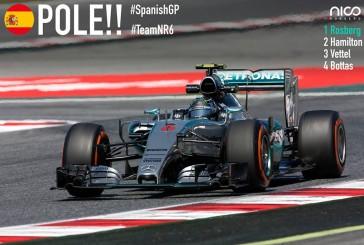 F1 / España: Primera pole de la temporada de Rosberg