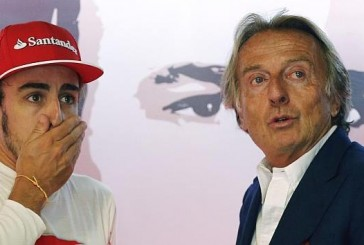 F1: Sin anestesia Montezemolo lo atendió a Fernando Alonso