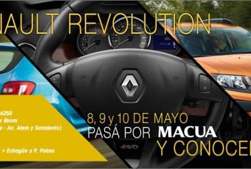 Renault Revolution: 8, 9 y 10 de Mayo Pasá por MACUA y conocelos