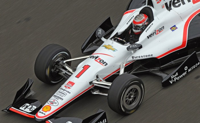 Indy Car: Power dominó en los Carb Day