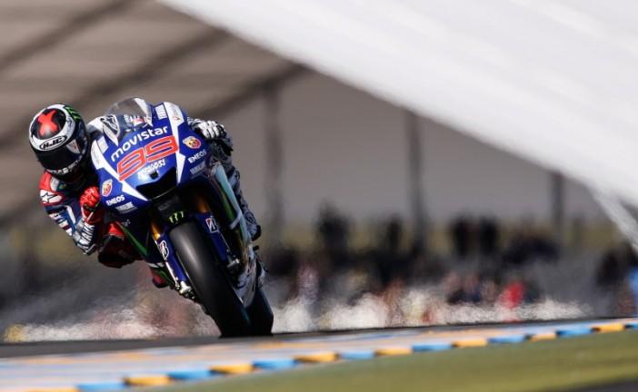 Moto GP: Lorenzo golpeó en Le Mans