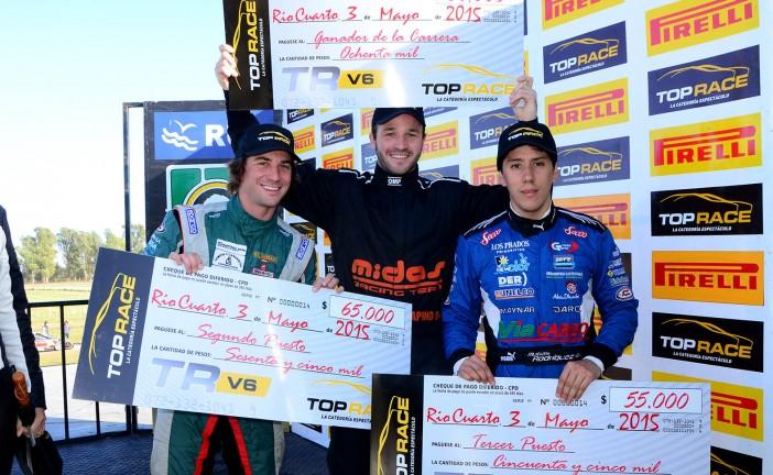 Top Race V6: Agustín Canapino de punta a punta en la primera final