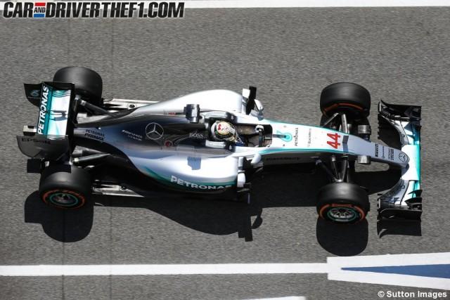 F1 / Montmeló: Nada nuevo, Hamilton lidera las pruebas libres