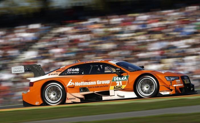 DTM / Lausitzring: Green ganó la primer carrera de la doble jornada