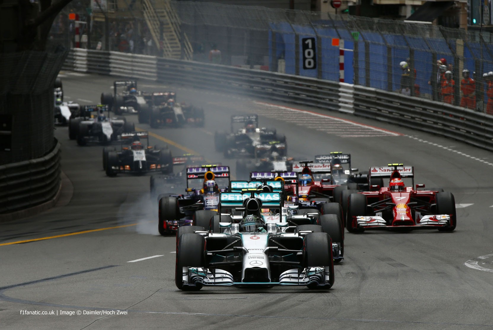 F1 / Mónaco: la meteorología de la carrera