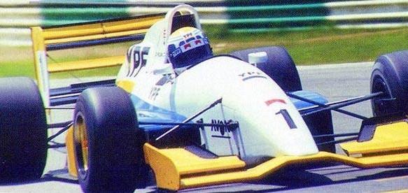 """En Silverstone 1994 el """"Jose"""" Di Palma hacia flamear la bandera en la Fórmula 2 Británica"""