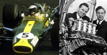 En 1967 debutaba con triunfo el Ford Cosworth DFV