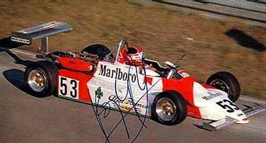 En Holanda «Popy» Larrauri, ganaba en la Fórmula 3 Europea y se dirigía al título