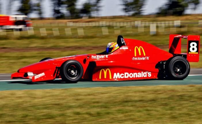 Fórmula Renault: ganó Moggia y aumentó su lugar en la punta del campeonato.
