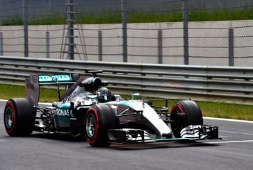 Fórmula 1: Rosberg cerró con el mejor tiempo en las prácticas de Austria
