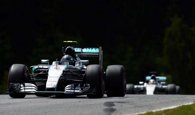 Fórmula 1: Ganó Rosberg y hay lucha por el Campeonato