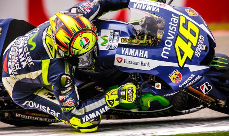 MotoGP: Rossi sancionado, deberá salir último en el GP de Valencia
