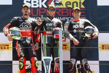Super Bike: Rea logró la victoria en Misano; Giugliano y Haslam en el podio