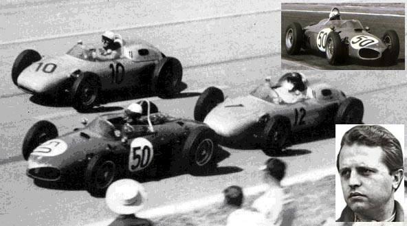 En 1961 en fórmula 1, debutaba y ganaba Giancarlo Baghetti