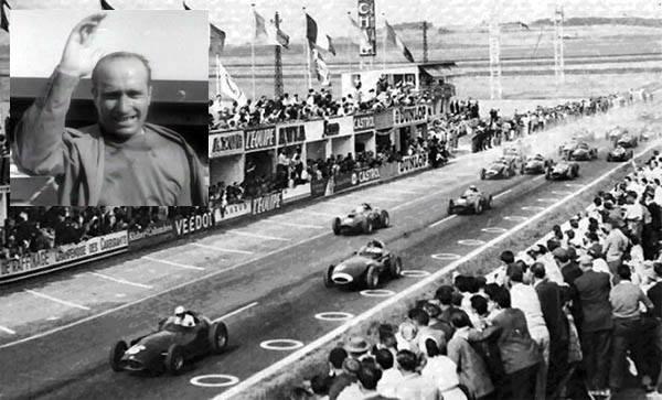 El 6 de julio de 1958, anunciaba su retiro Juan Manuel Fangio en el gran premio de Francia