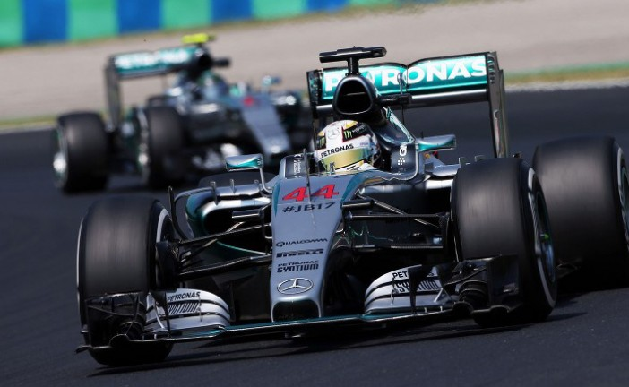 Fórmula 1: Hamilton el más veloz en Hungría