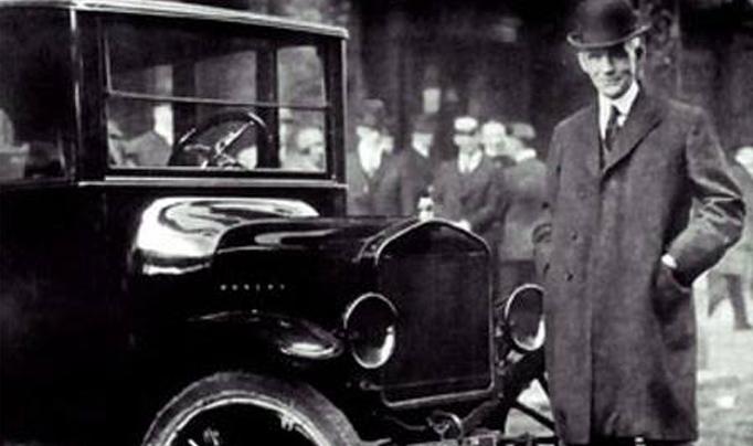 Un día como hoy, pero de 1863, nacía Henry Ford