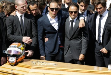 Fórmula 1: Conmovedora despedida a Jules Bianchi