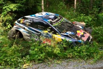 WRC: Ogier es el líder en un accidentado rally
