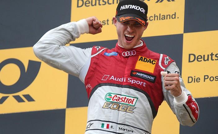 DTM: Edoardo Mortara ganó la primer carrera en Austria
