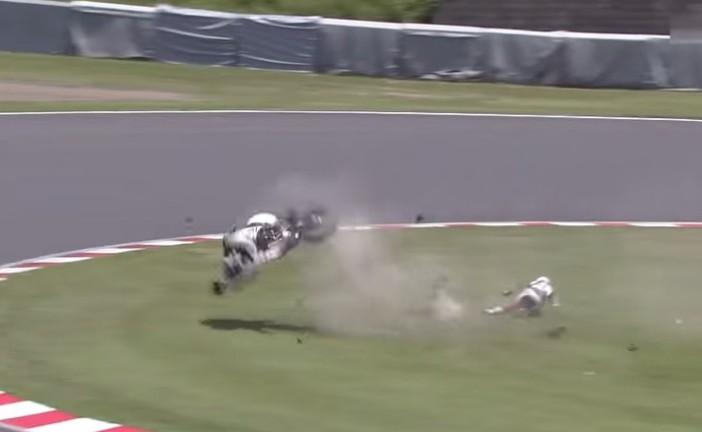 8 hs de Suzuka: Casey Stoner sufrió un terrible accidente