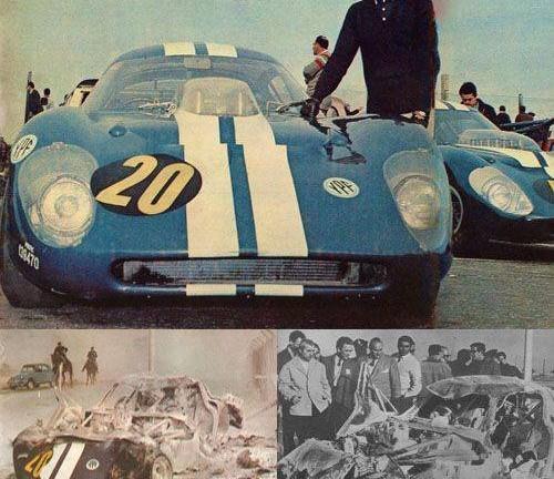 Debut y tragedia de los prototipos Ford