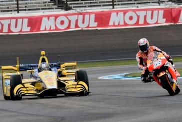 Moto GP: Emocionante duelo MotoGP-Indycar en Indianápolis