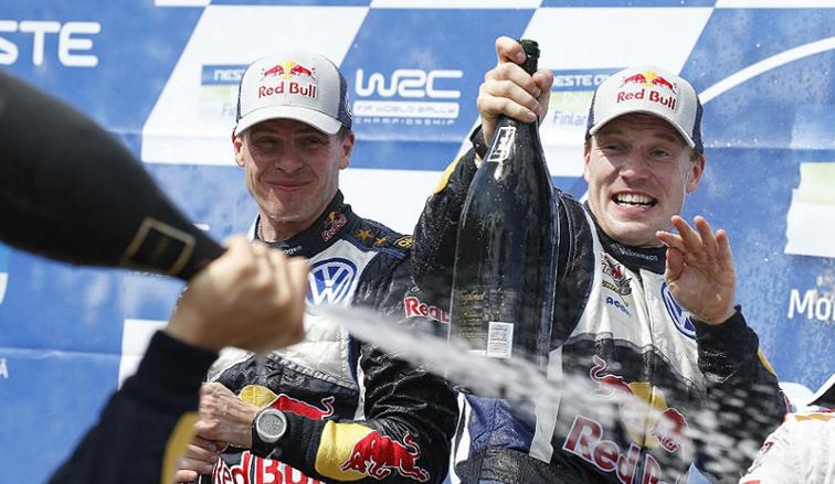 WRC: Latvala se quedó con el rally de Finlandia