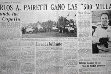 Un día como hoy Pairetti ganaba las 500 millas de Rafaela