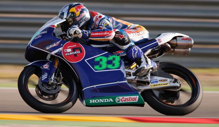MotoGP: en Moto3 Bastianini firma su cuarta pole del año; y Rabat en Moto2