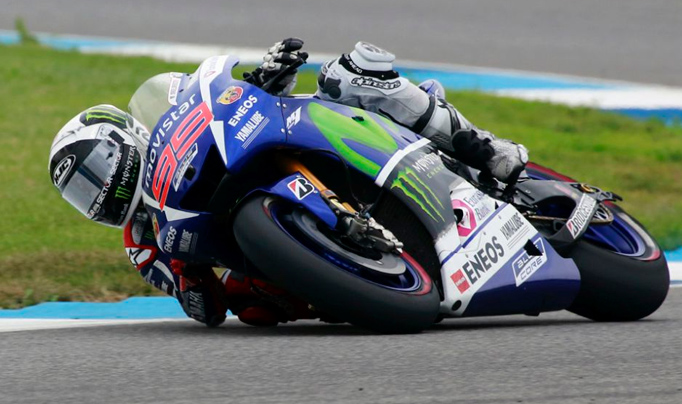 Moto GP: Lorenzo dominó los entrenamientos