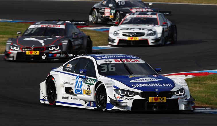 DTM: Maxime Martin gana la carrera del sábado en Nürburgring