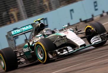 Fórmula 1: Mercedes domina los Libres 1 de Singapur