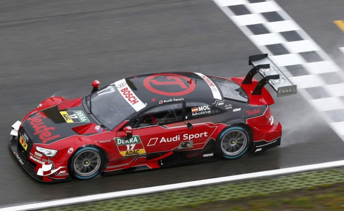 DTM: Miguel Molina gana su primera carrera en el DTM
