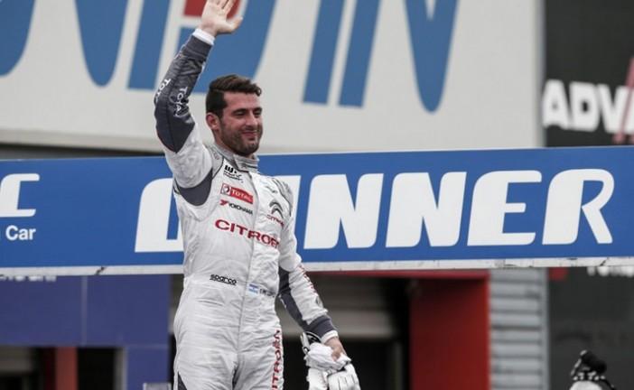 """WTCC: """"Pechito"""" López ganó la primer carrera, y Muller la segunda"""