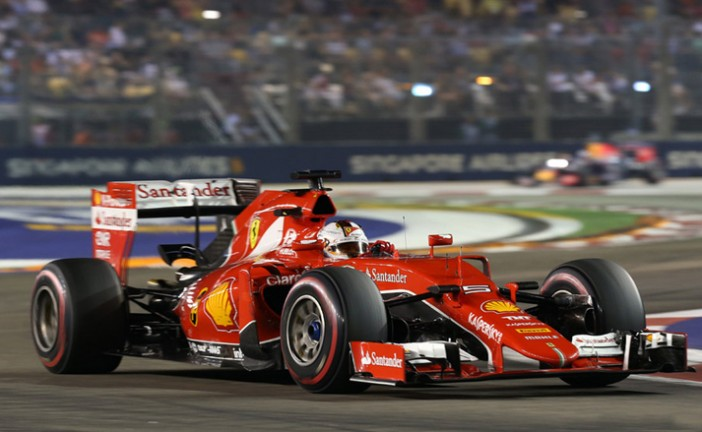Fórmula 1: Vettel ganó en Singapur