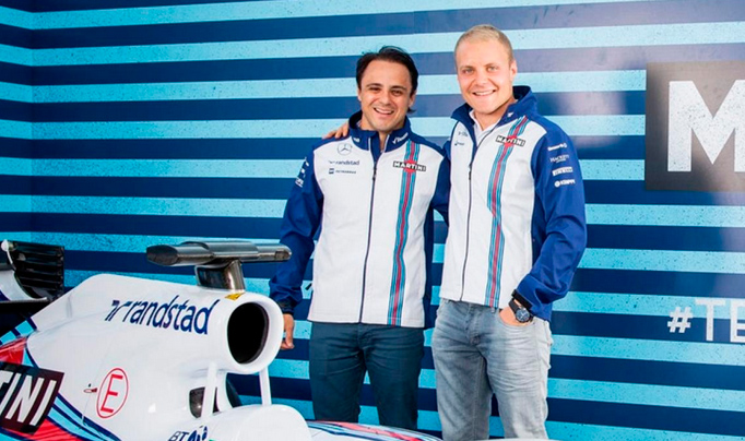 Fórmula 1: Williams anunció que renovó con Massa y Bottas
