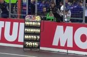 MotoGP: Moto2 – Zarco celebra el título desde lo más alto del podio