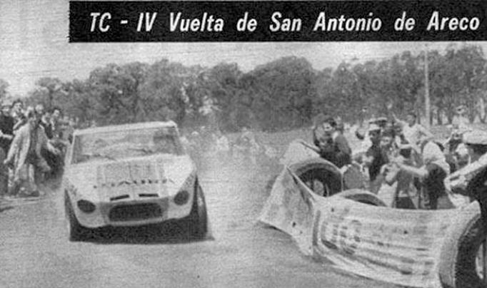 Un día como hoy pero de 1966, Jorge Cupeiro ganaba la 4ª Vuelta de San Antonio de Areco