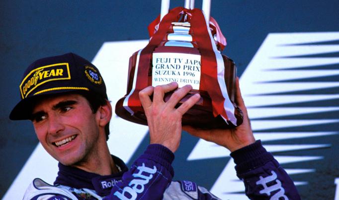 13/10/96: Damon Hill ganaba el Gran Premio de Japón de F1 y se consagraba Campeón Mundial.