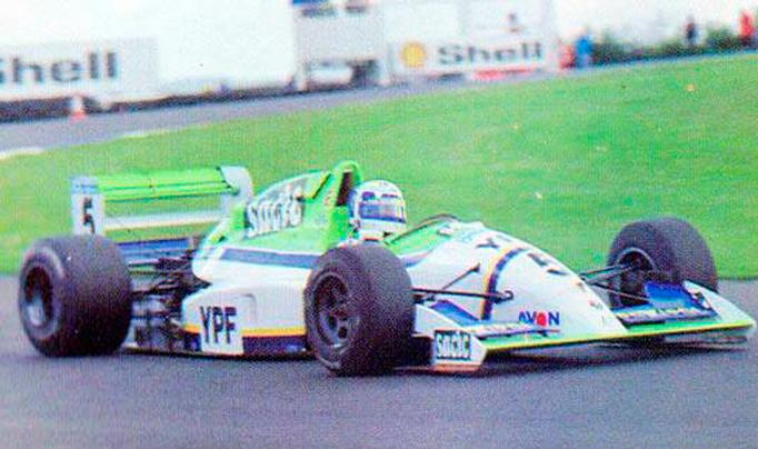 30/10/1994…José Luis Di Palma se coronaba campeón de la F2 Británica