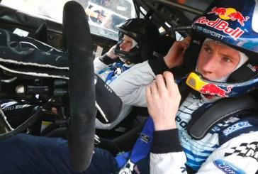WRC: Evans lidera en Córcega