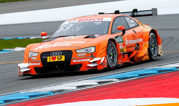 DTM: Jamie Green manda en el FP1 y Di Resta en el FP2 en Hockenheim
