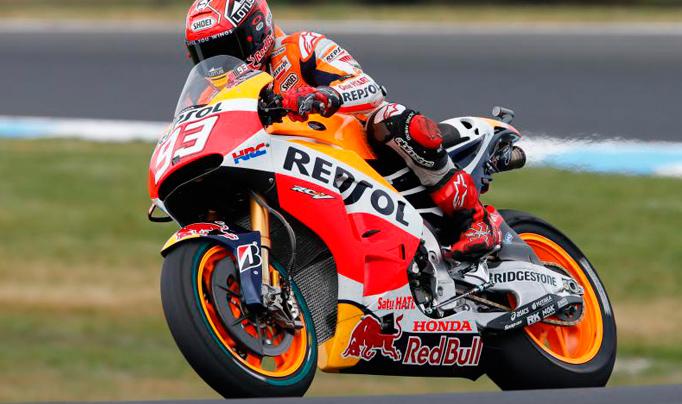 MotoGP: Márquez domina la primera jornada en Australia