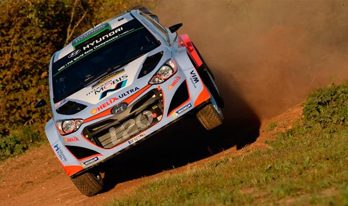 WRC: Paddon al frente en el Shakedown del Rally Catalunya – Costa Daurada