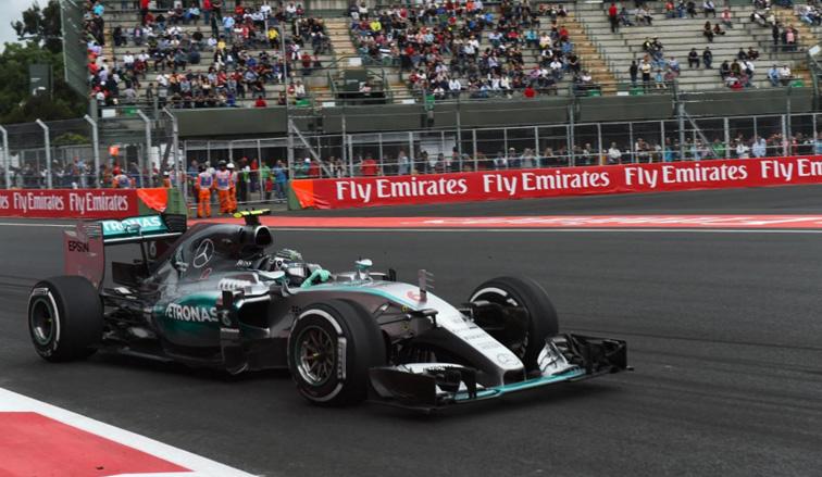 Fórmula 1: Rosberg lideró los Libres 3 en México
