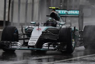 Fórmula 1: Rosberg logra la Pole en una pista muy delicada por la lluvia