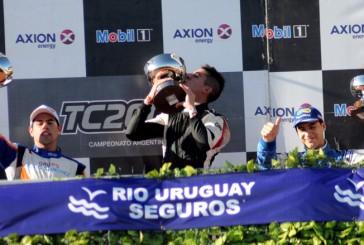 TC2000: Franco Crivelli se llevó el Sprint en Concepción del Uruguay
